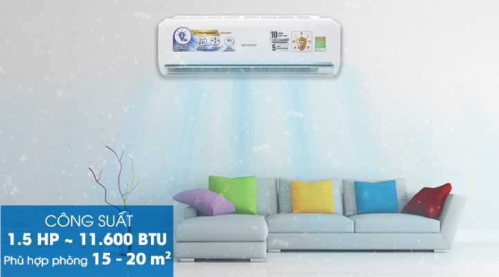 MÁY ĐHKK SHARP INVERTER AH-X12UEW