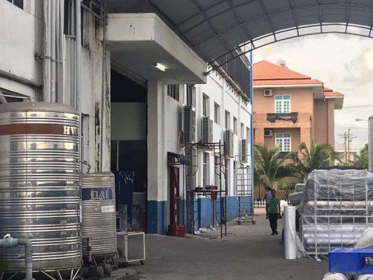 Thi công hệ thống máy lạnh công nghiệp văn phòng nhà xưởng