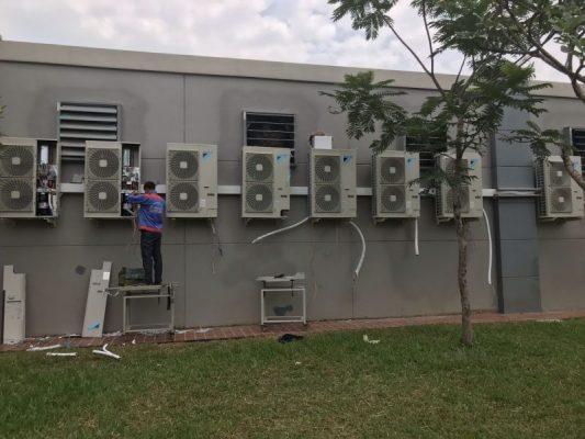 Thi công hệ thống lạnh tại nhà máy nước thủ đức