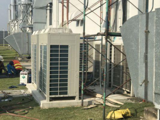 Dự án thi công hệ thống máy lạnh công nghiệp tại KCN Nhơn Trạch 3