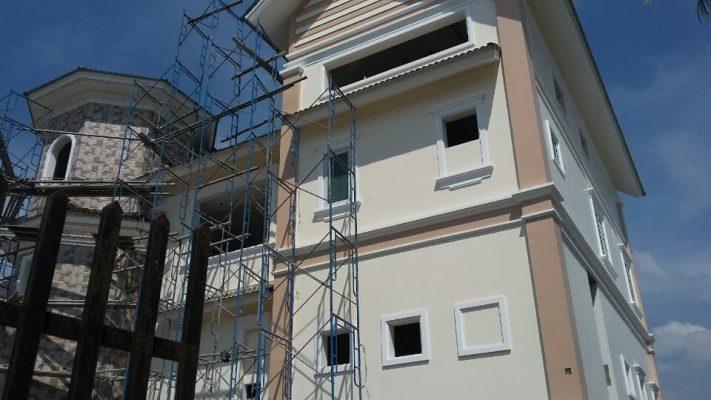 Lắp đặt hệ thống máy lạnh tại biệt thự Tân Uyên