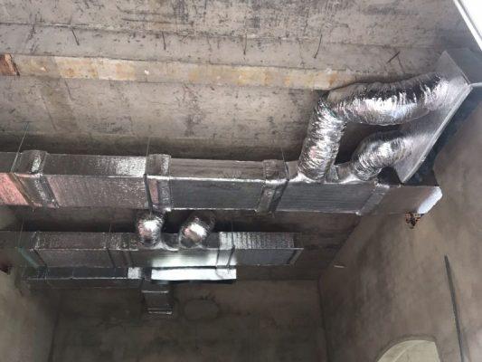 Thi công hệ thống lạnh vrv tại Tân Uyên