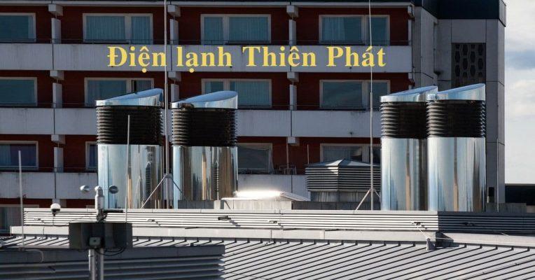 Thi công hệ thống điều hòa thông gió