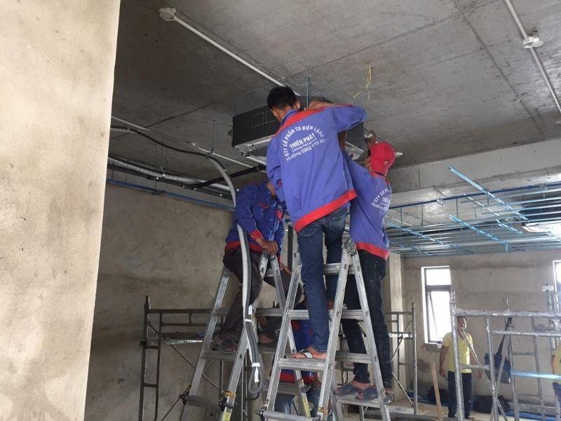 Thi công lắp đặt điều hòa multi cho căn hộ chung cư