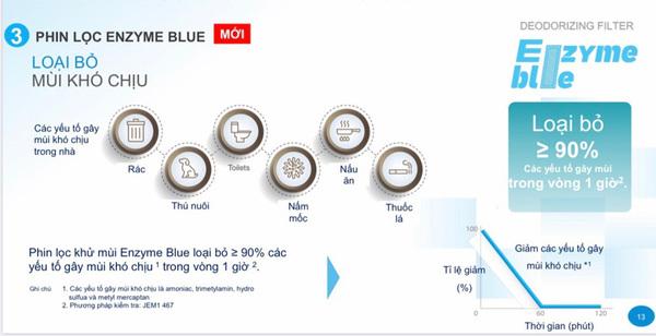 phin loc enzyme blue 2 1 - Điều hòa Daikin 12000BTU inverter FTHF35VAVMV